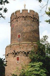 A castle in Nijmegen's park