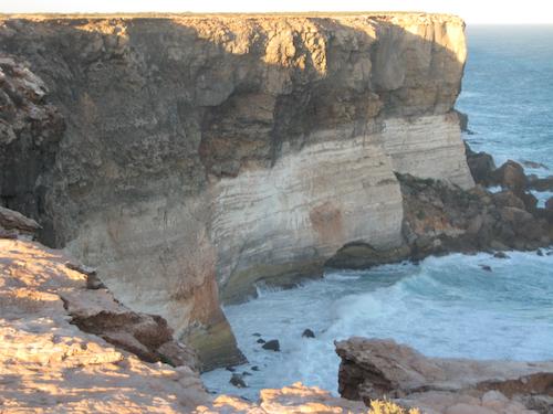 Bunda Cliffs at dusk