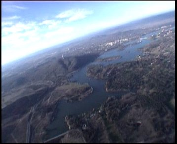 Canberra from 10,000 feet