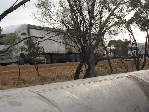 Pipeline and road trains