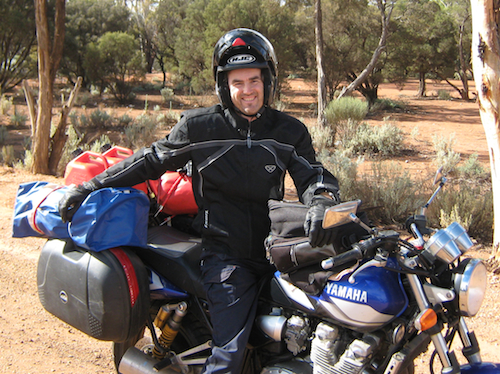 Have motorcycle, will travel